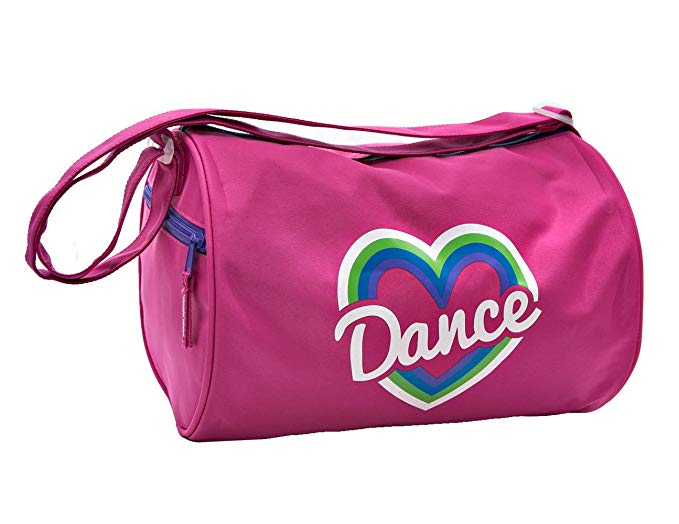 Horizon Dance 3410 Happy Heart Pink Duffel Bag