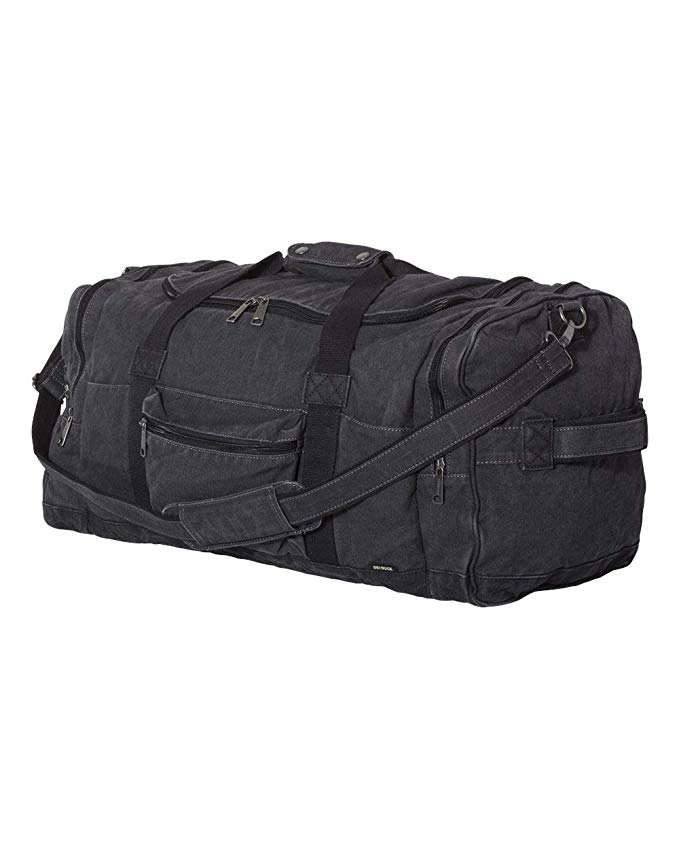 DRI DUCK Expedition 60L Duffel, Charcoal/Black, One Size