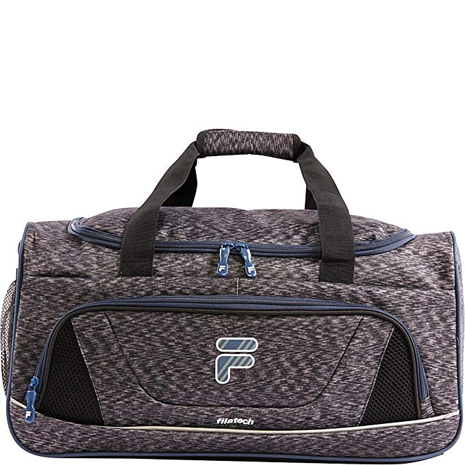 Fila Victory 2.0 Gym Sports Bag, Grey/Navy, One Size