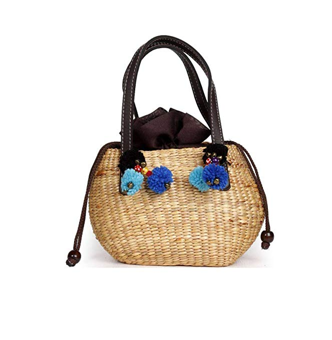 Straw Boho Basket Bag
