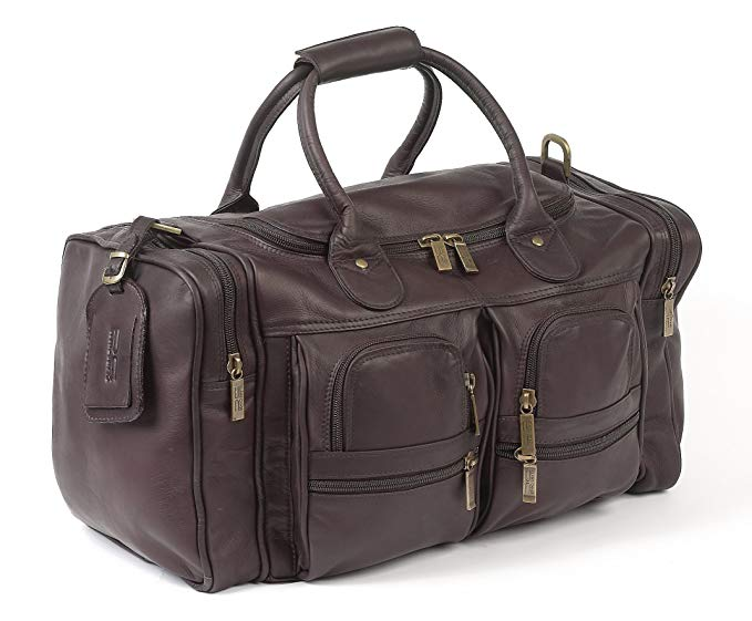 Claire Chase Executive Sport Duffel, Cafe, One Size