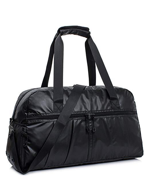 Leaper Vintage Travel Duffel Weekend Bag Tote Satchel Shoulder Handbag