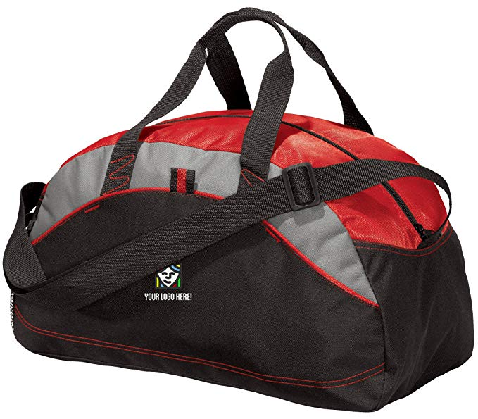 Custom Embroidered Port and Company All Purpose Sport Duffels - Pack of 5