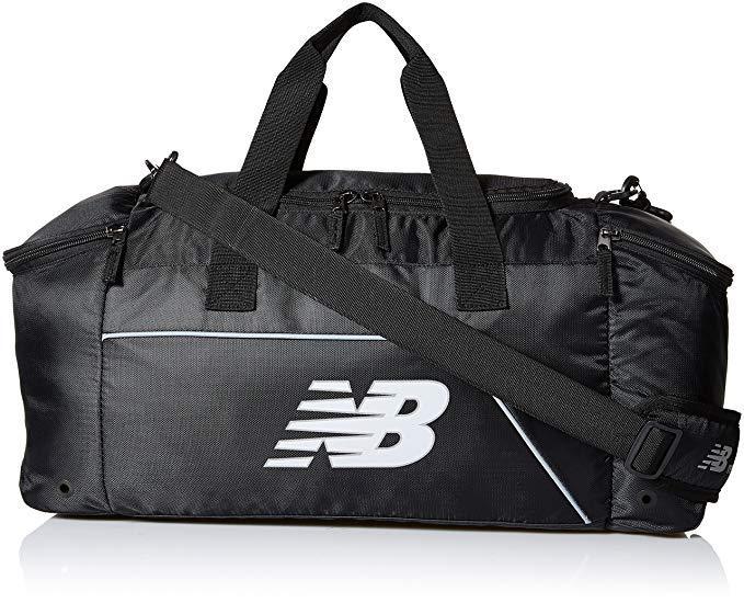 New Balance Performance Duffel Bag, Black, Small