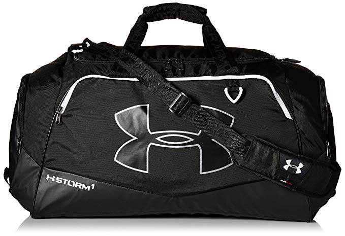 Under Armour Storm Undeniable II Duffle, Black /White, One Size