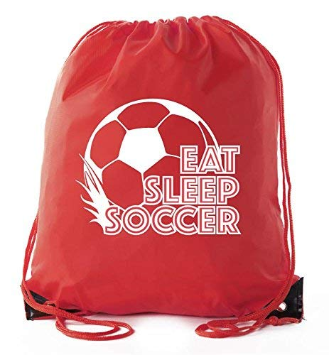 Soccer Party Favors | Soccer Drawstring Backpacks for Birthday Parties, Team events, and much more!