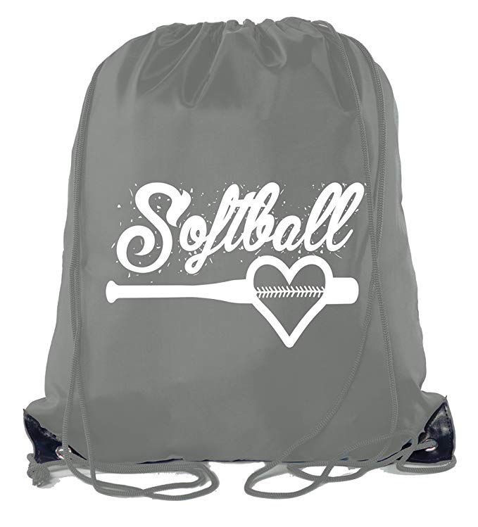 Mato & Hash Ladies Softball Drawstring Bags with 3,6, and 10 Pack Bulk options