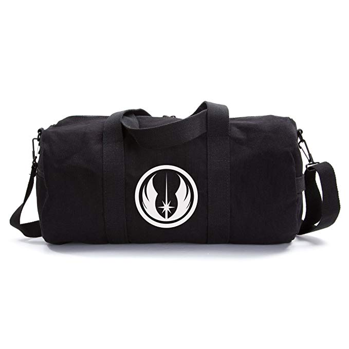 Jedi Order Logo Sport Heavyweight Canvas Duffel Bag