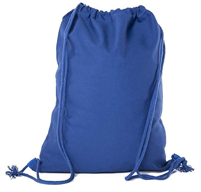 Mato & Hash Cotton Canvas Drawstring Bags | Promotional Cotton Drawstring Bags