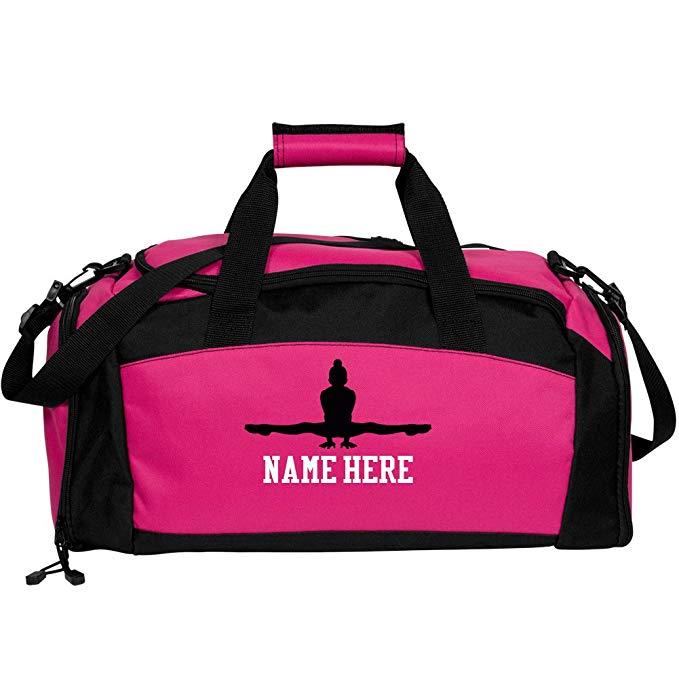Custom Gymnastics Bag: Port & Company Gym Duffel Bag