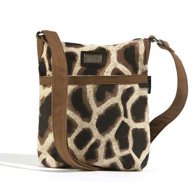 Halle Joy Giraffe Print Mini Handbag 10.5 by 9.5 inches Noah Collection 100114