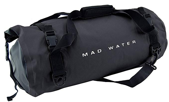Mad Water Classic Roll Top Duffel 30L, Black, One Size