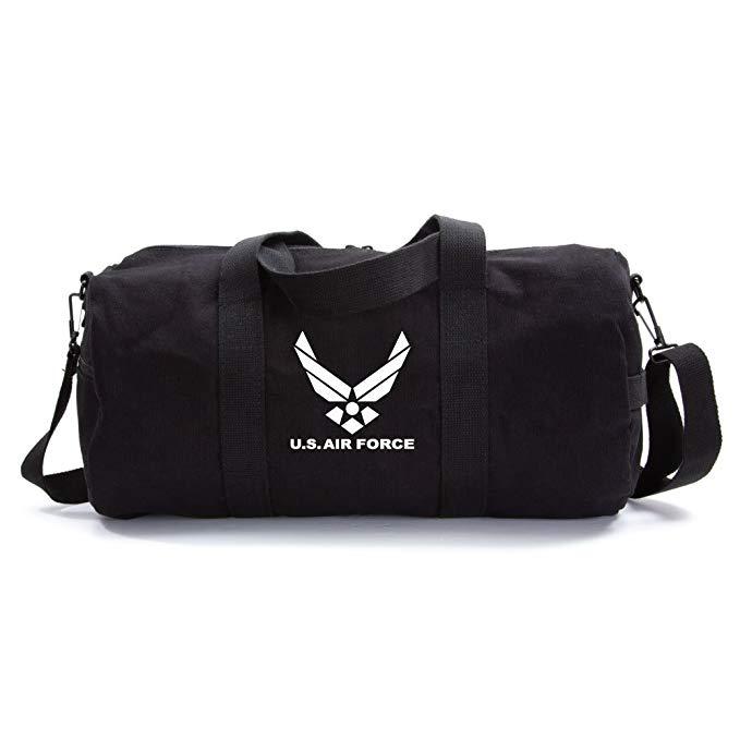 United Sates Air Force Emblem Army Sport Heavyweight Canvas Duffel Bag