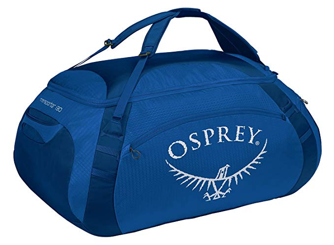 Osprey Transporter Travel Duffel Bag, True Blue, 130-Liter
