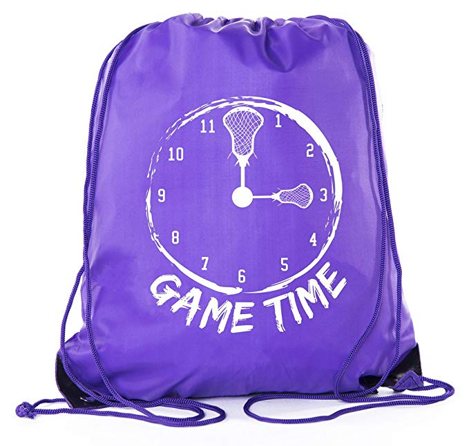 Mato & Hash Party Favor Lacrosse bags|Lacrosse drawstring Backpacks for events!