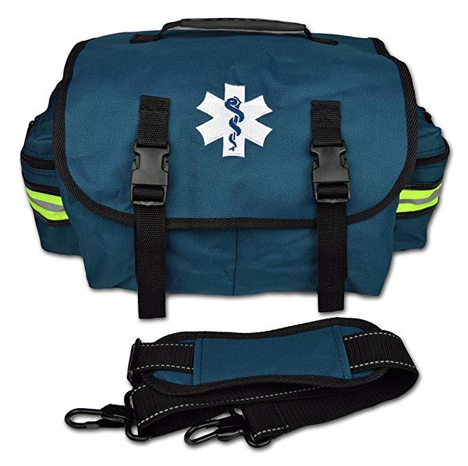 Lightning X Small EMT Medic First Responder Trauma EMS Jump Bag w/ Dividers