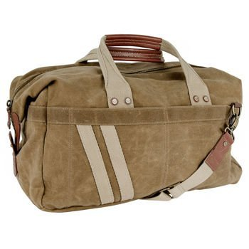 J. Fold –Roadster Duffel | Carry-on with Brass & Leather Trim