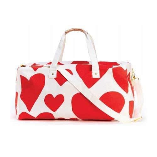 Bando 51215 Extreme Super Cute Hearts Getaway Duffle Bag