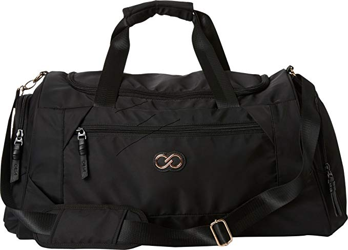 CALIA by Carrie Underwood Athletic Duffel Bag (One Size, Caviar/Caviar)