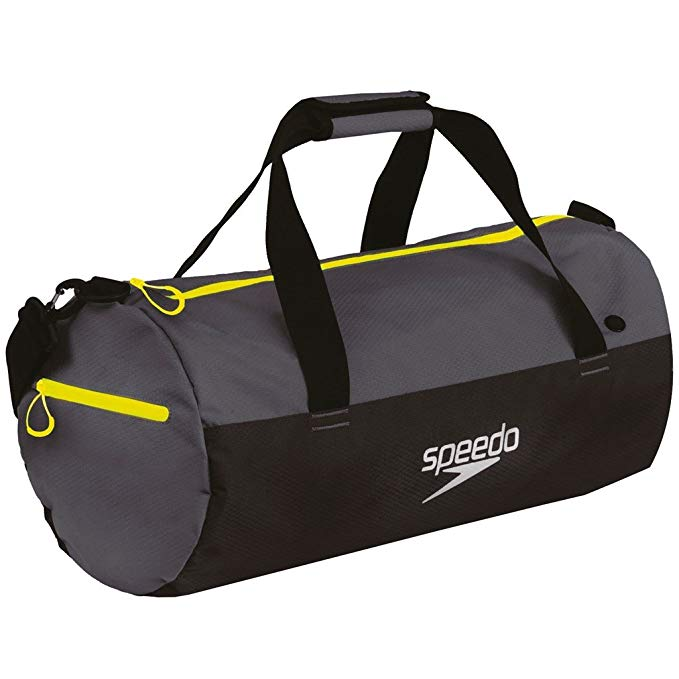 Speedo Waterproof Gym Pool 30L Duffel - Black/Grey - OS