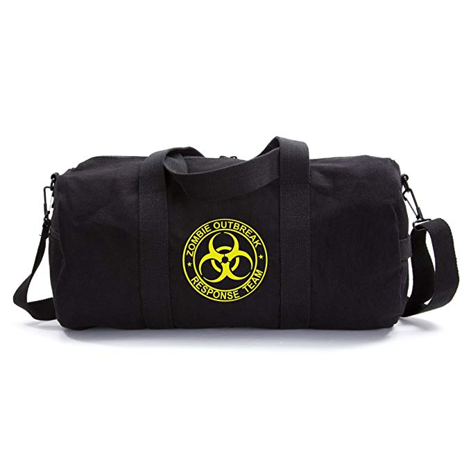 Zombie Outbreak Response Team Sport Heavyweight Canvas Duffel Bag