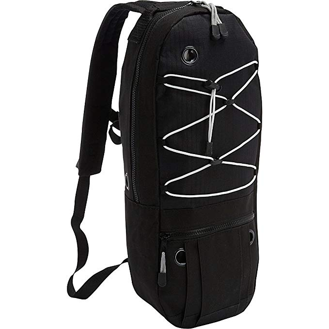 Cramer Decker Medical Oxygen Cylinder Backpack (MD Size Cylinder) (Black)