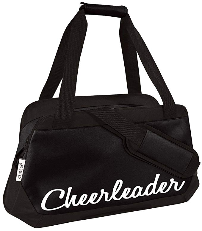 Chassé Girls' Micro Cheerleading Duffle Bag - Black
