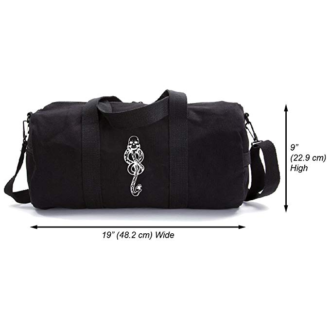 Harry Potter Death Eaters Dark Mark Heavyweight Canvas Duffel Bag