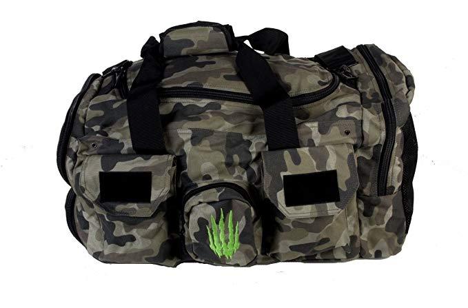 Bear KompleX duffel bag gym bag Tactical for fitness & CrossFit 1000D duffel - Camo
