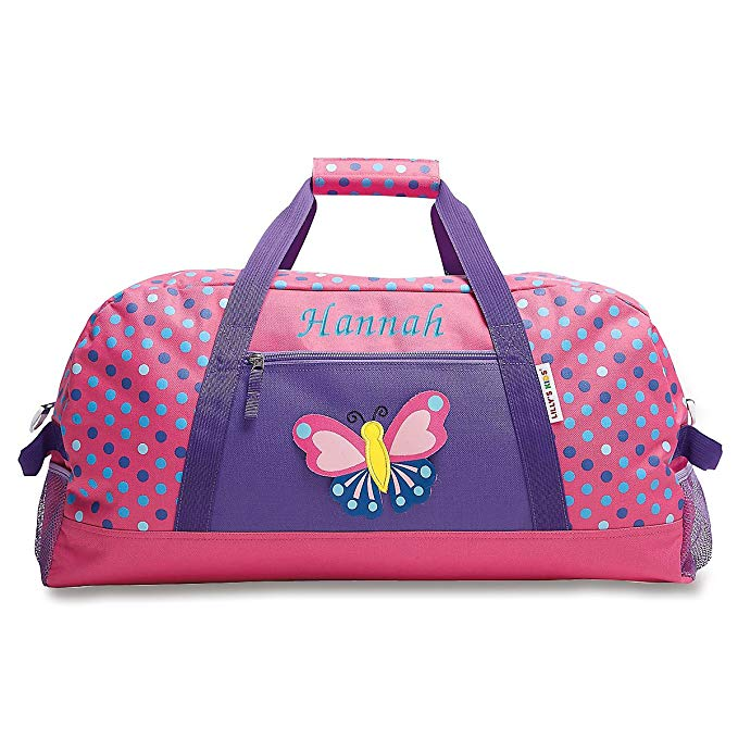 Personalized Kids 3D Butterfly Carry-On Duffel Bag for Girls (11
