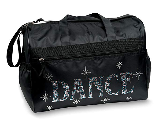 Dansbagz By Danshuz Women's Bling It Dance Bag, Black, OS