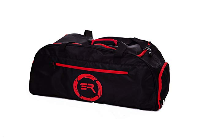 Extreme Rush Hybrid Duffle/Backpack-Black/Red