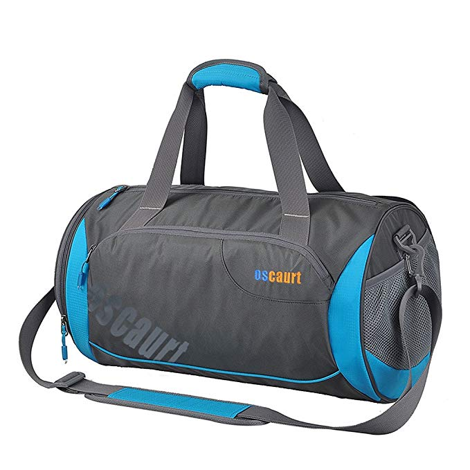 Oscaurt Gym Duffle Sport Bag with Large Ventilated Shoes Compartment For Travel,Gym,Yoga