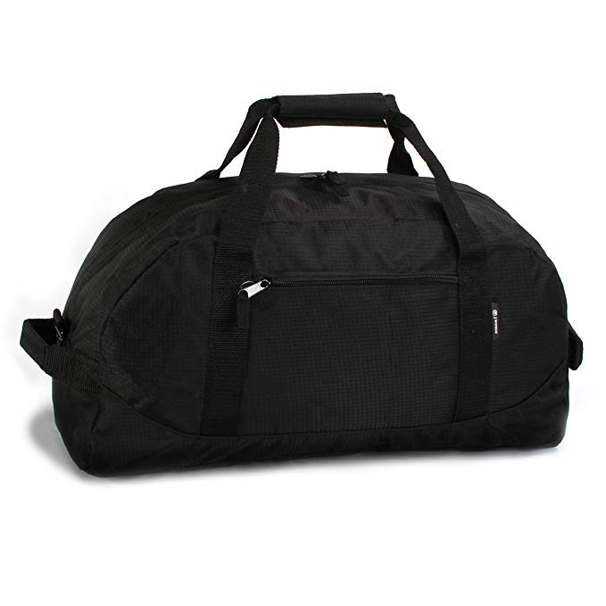 J World New York Lawrence 36 Inch Duffel Bag, Black