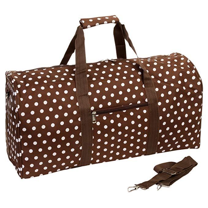 Polka Dot Duffle Bag
