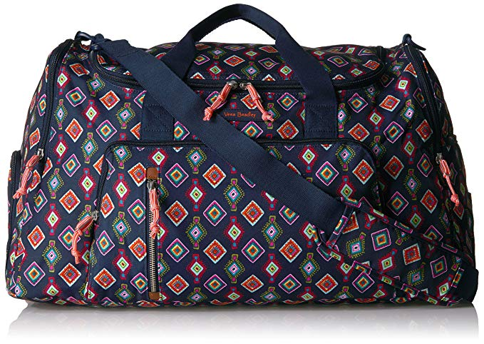 Vera Bradley Lighten Up Ultimate Gym Bag, Polyester